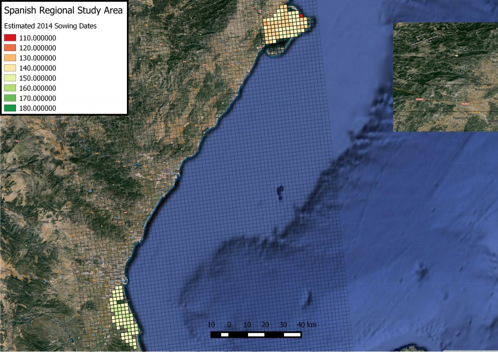 Spanish SowingMap
