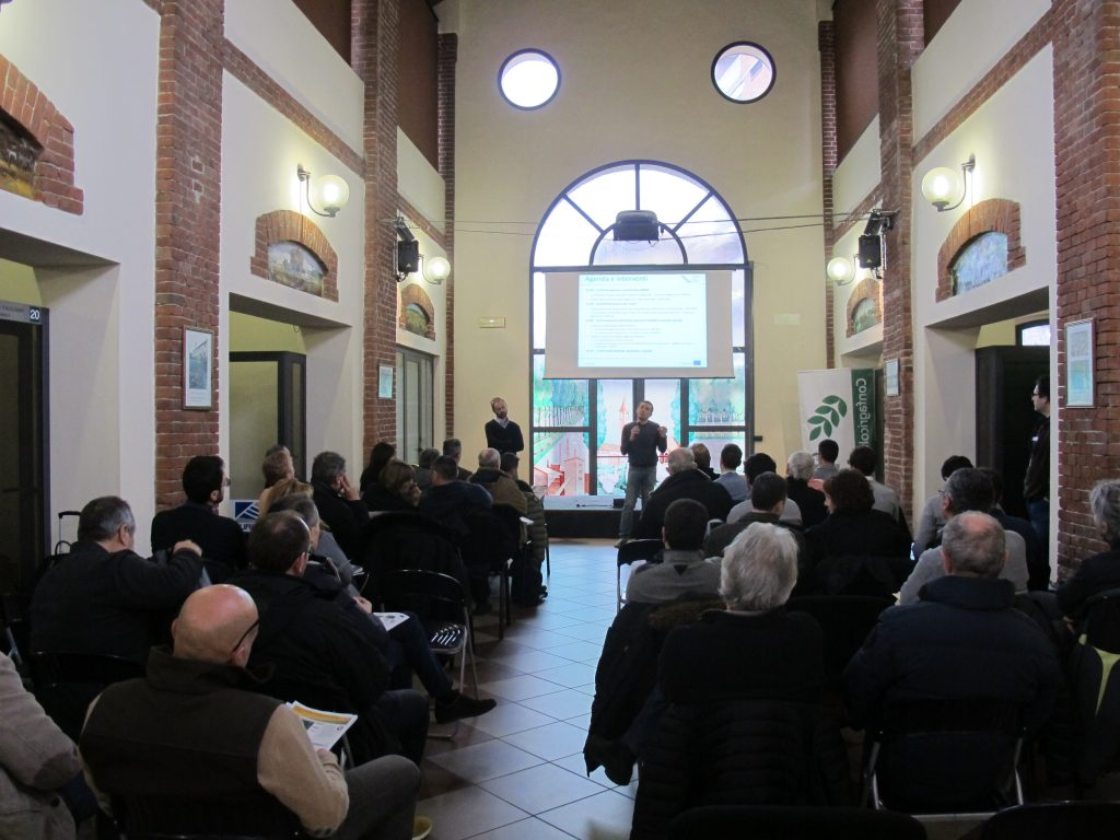 ERMES personnel presented the overall results of the project to end users and public